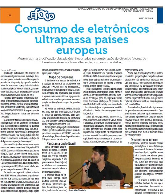 Entrevista - Jornal em Foco